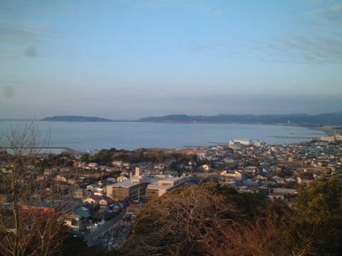 館山の眺望