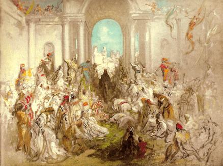 ギュスターヴ・ドレ「キリストのエルサレム入城」