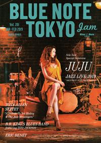 BLUE NOTE TOKYO jam Vol.201 JAN-FEB 2019