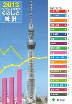 2013 グラフでみる東京のすがた くらしと統計