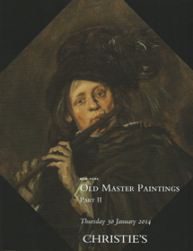 NEW YORK OLD MASTER PAINTINGS PART II 30 JANUARY 2014