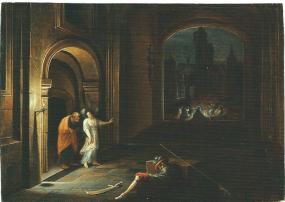 ヘンドリック・ヴァン・ステーンウィック2世「聖ペテロの解放」