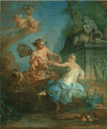 フージェ・タラヴァルのサークル「フローラとゼピュロス」