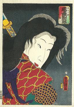 歌川国貞「尾上菊次郎」