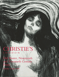 Christie's London OLD MASTER, NINETEENTH AND TWENTIES CENTURY PRINTS TUESDAY 22 JUNE 1999