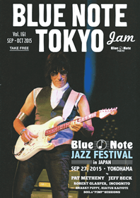 BLUE NOTE TOKYO Vol.161 SEP-OCT 2015