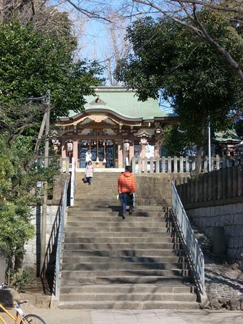 北澤八幡神社(筆者撮影)