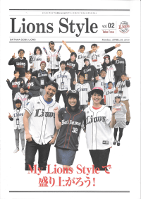 Lions Style vol.02 Monday, APRIL 25, 2016