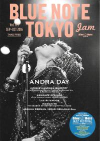 BLUE NOTE TOKYO jam Vol.173 SEP-OCT 2016