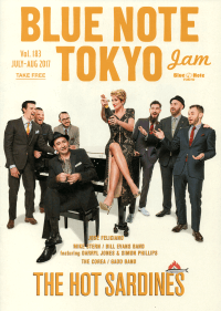 BLUE NOTE TOKYO jam Vol.183 JULY-AUG 2017