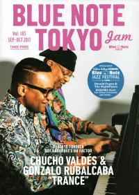 BLUE NOTE TOKYO jam Vol.185 SEP-OCT 2017