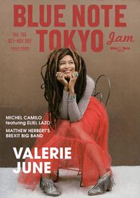 BLUE NOTE TOKYO jam Vol.186 OCT-NOV 2017
