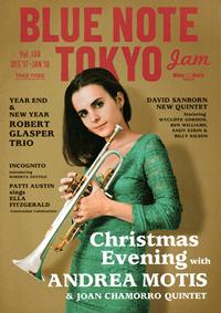 BLUE NOTE TOKYO jam Vol.188 DEC'17-JAN'18