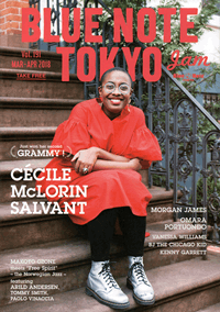 BLUE NOTE TOKYO jam Vol.191 MAR-APR 2018