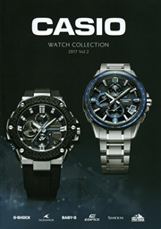 CASIO WATCH COLLECTION 2017 Vol.2