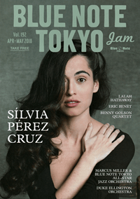 BLUE NOTE TOKYO jam Vol.192 APR-MAY 2018
