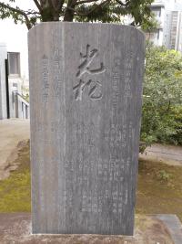 光松の碑(2)