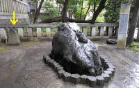 お手水所奉納の碑